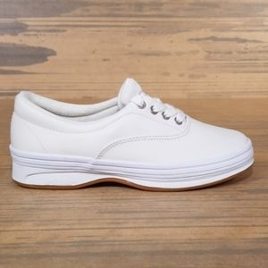 Cherokee White Leather Upper Sneakers